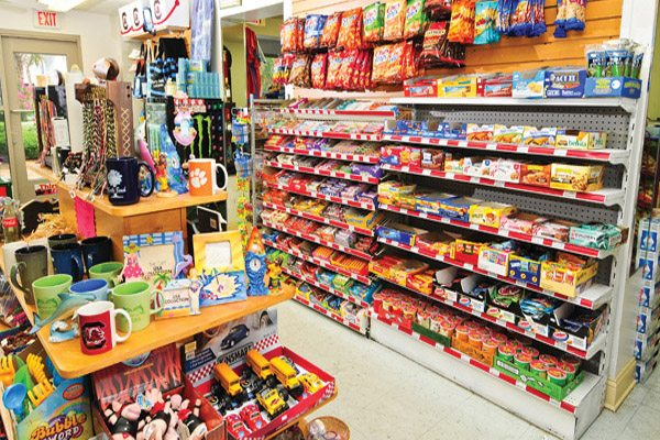 "Sea Crest Resort's ""Ship Store"" convenience store and gift shop"