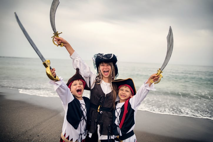 Things To Do in Myrtle Beach with Kids like dress up as pirates