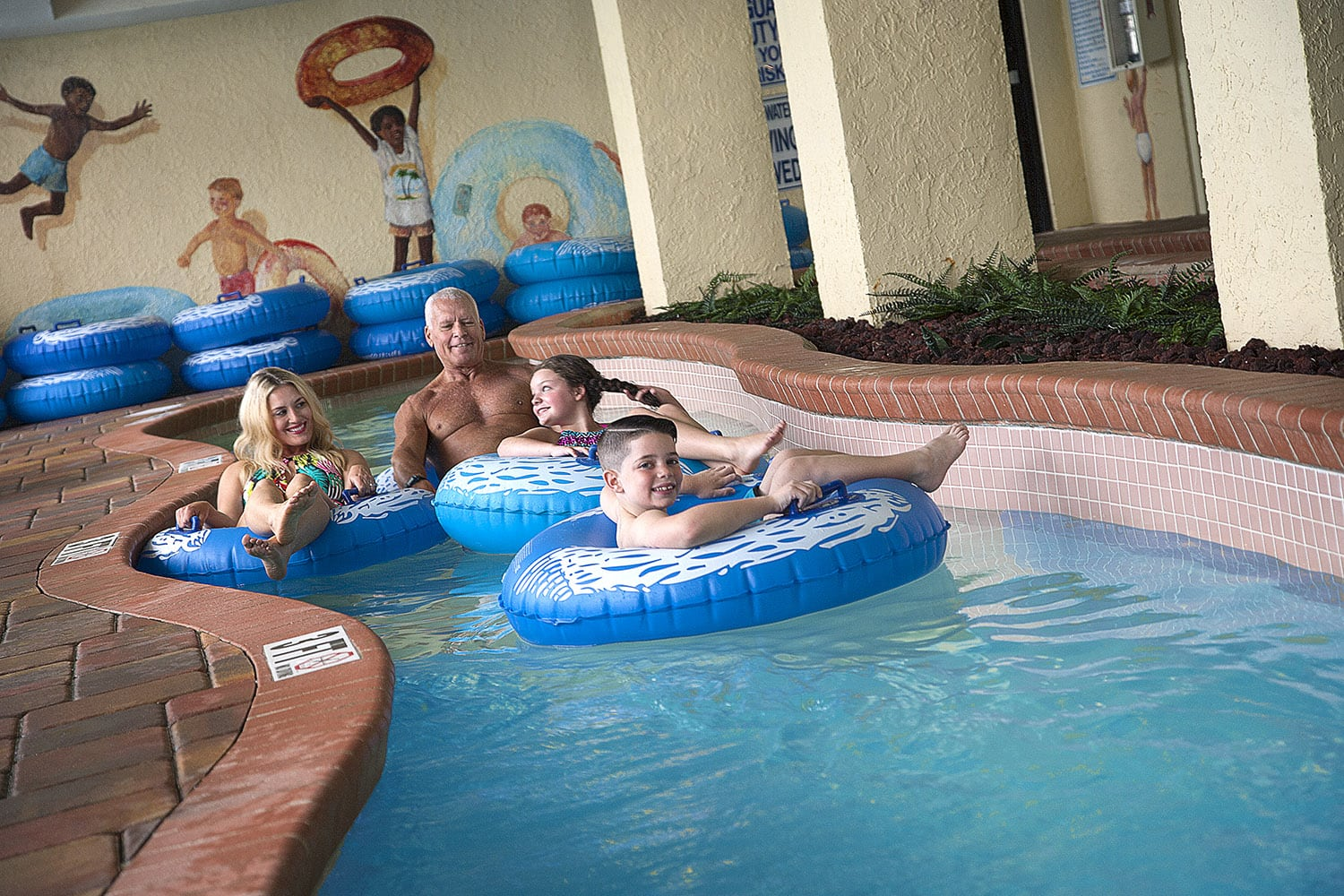 Lazy River At Sea Crest Resort